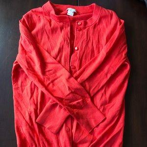 Crop Sleeve Cardigan